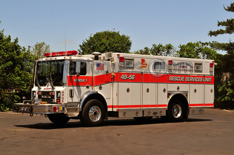 FLEMINGTON-RARITAN RESCUE 49-56 - 1992 MACK MR/E-ONE