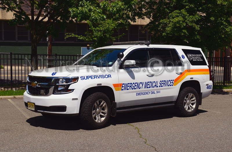 UMDNJ NEWARK, NJ EMS SUPERVISOR 402
