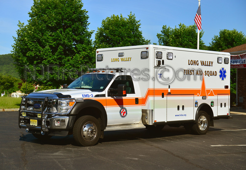 LONG VALLEY EMS-3 - 2012 FORD F450/HORTON
