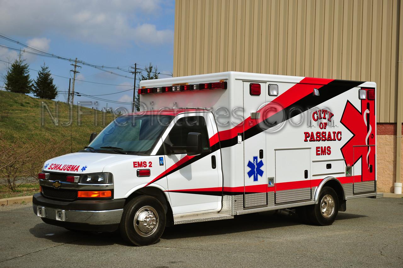 PASSAIC, NJ EMS 2 - 2012 CHEVROLET G4500/McCOY MILLER