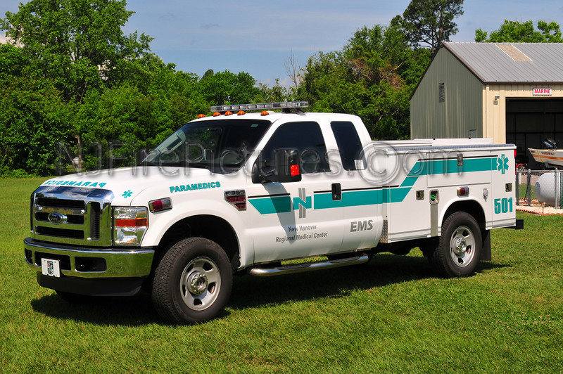 New Hanover Regional Medical Center Paramedic 501 - 2009 Ford F350/Reading
