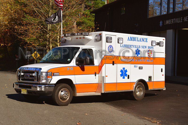 LAMBERTVILLE-NEW HOPE AMBULANCE 17-52