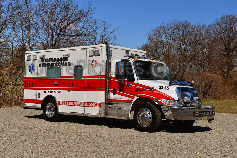 WHITEHOUSE RESCUE SQUAD READINGTON TWP, NJ AMBULANCE 22-55