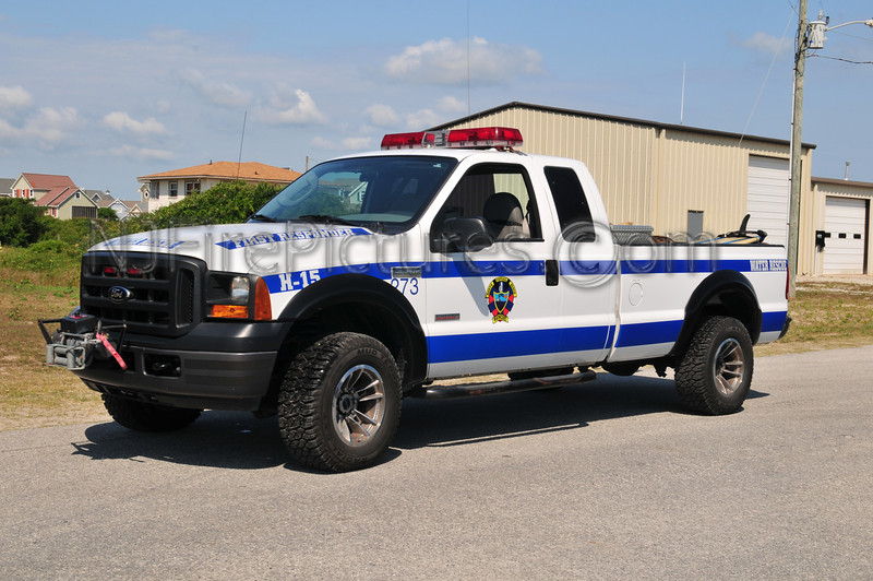 NORTH TOPSAIL BEACH RESCUE H-15 - 2005 FORD F250 (WATER RESCUE)
