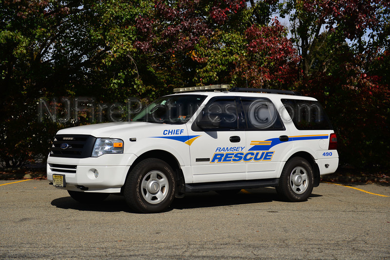 RAMSEY, NJ RESCUE CHIEF 490