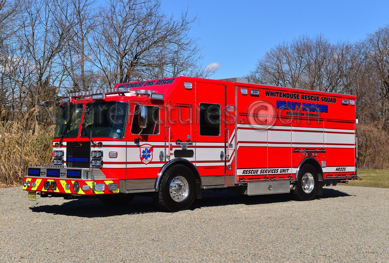 WHITEHOUSE RESCUE SQUAD READINGTON TWP, NJ HR-225