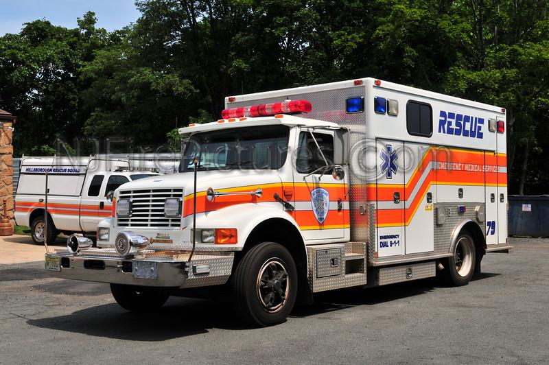 Hilsborough, NJ Rescue 79 - 1992 International/American Fire Rescue