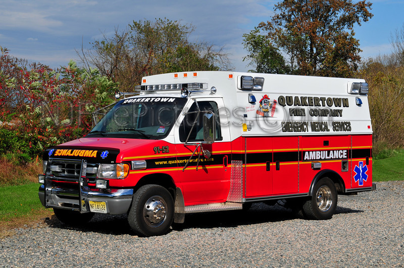 QUAKERTOWN, NJ AMBULANCE 91-52