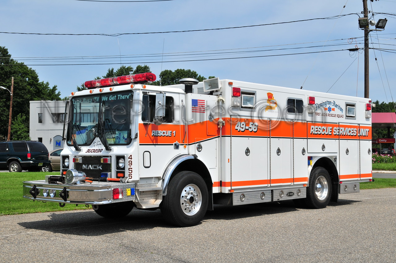 Flemington-Raritan Rescue Squad 49-56 - 1992 Mack MR/Emergency One