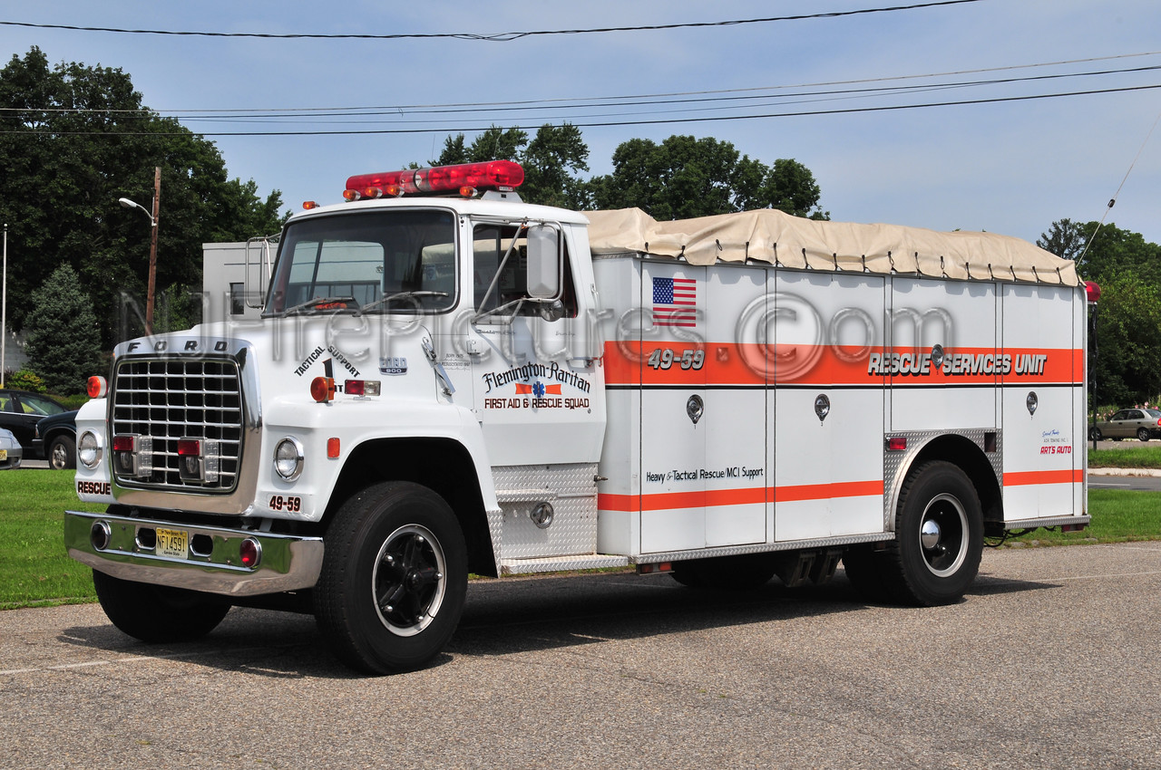 Flemington-Raritan Rescue Squad 49-59 - 1975/1992 Ford 900/Hammerly