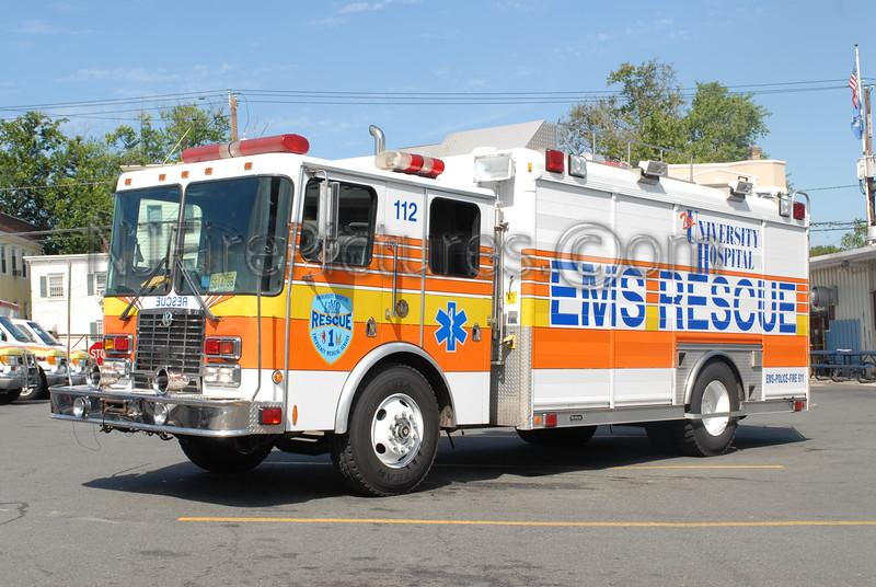 UMDNJ Newark - Rescue 112 - 1998 HME/Hackney