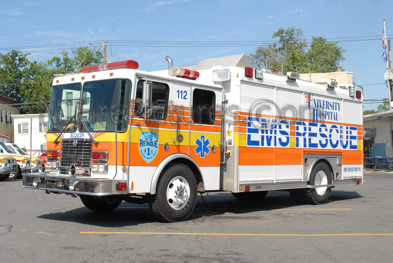 UMDNJ Newark - Rescue 112 - 1998 HME/Hackney