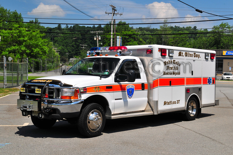 Budd Lake First Aid Squad Rescue 77 - 2001 Ford F550/Odysee