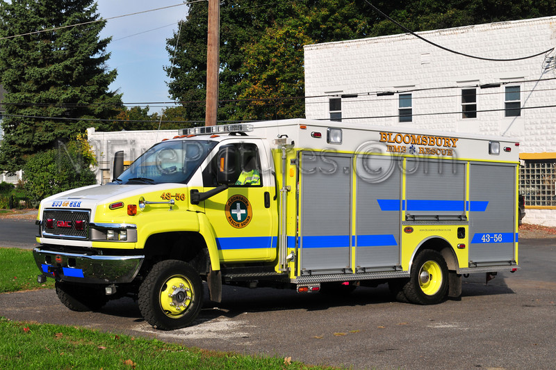 BLOOMSBURY, NJ RESCUE 43-56