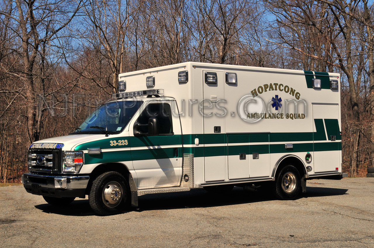 HOPATCONG, NJ AMBULANCE 33-233 - 2010 FORD/ROAD RESCUE