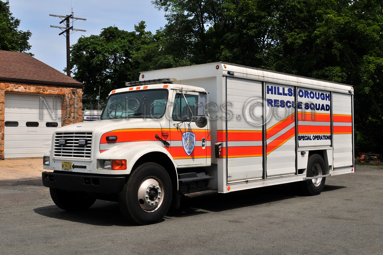 Hillsborough, NJ Special Operations Unit - 1998 International/Hessco (Former Soda Truck)