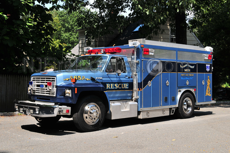 Morris Minutemen First Aid Squad - Rescue 65 - 1991 Ford F700/Emergency One