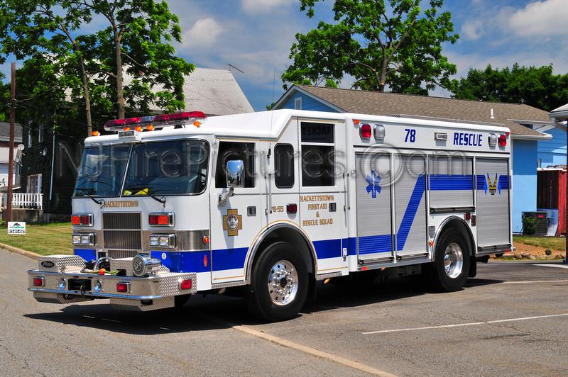 Hackettstown Rescue 78-55 - 2002 Pierce Saber