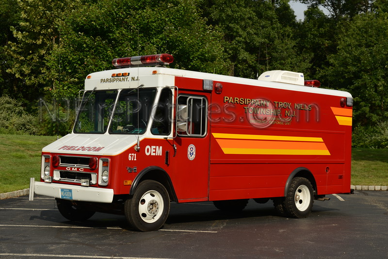PARSIPPANY, NJ OFFICE OF EMERGENCY MANAGEMENT FIELD COM 671