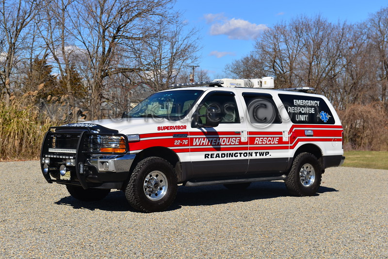 WHITEHOUSE RESCUE READINGTON TWP, NJ EMS SUPERVISOR 22-76