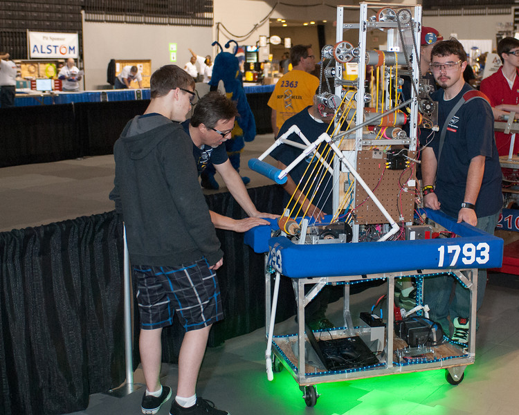FIRST Robotics Virginia Regional 3-16-2012-8343