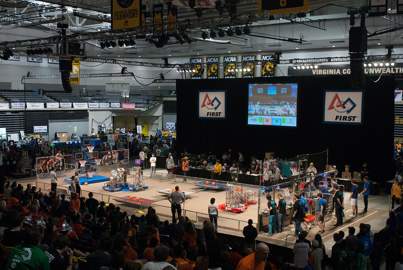 FIRST Robotics Virginia Regional 3-16-2012-8420