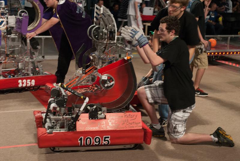 FIRST Robotics Virginia Regional 3-16-2012-8431