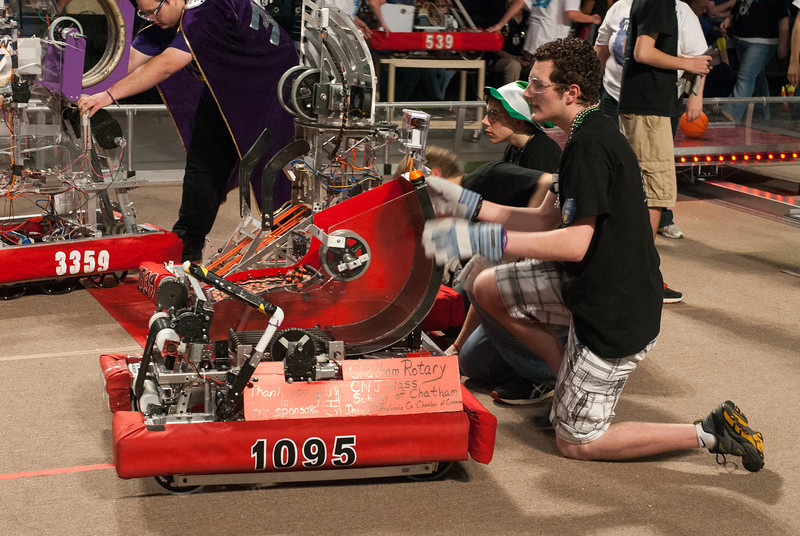 FIRST Robotics Virginia Regional 3-16-2012-8430