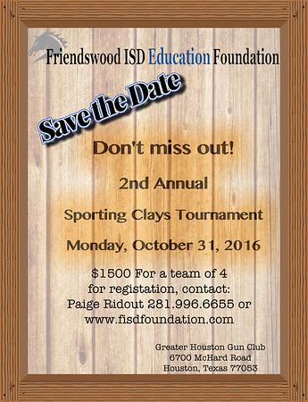 Sporting Clay Shoot- 2016 Fall Fundraiser