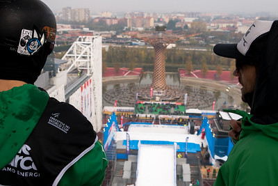 FIS Freestyle Skiing Big Air World Cup Milano 2016