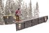 Regina Rathgeb - AUT<br /> 2013 Visa U.S. Freeskiing Grand Prix at Copper Mountain, Colorado.<br /> FIS World Cup<br /> Women's slopestyle freeskiing qualifiers<br /> Photo: Sarah Brunson/U.S. Freeskiing