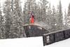 Yuki Tsubota - CAN<br /> 2013 Visa U.S. Freeskiing Grand Prix at Copper Mountain, Colorado.<br /> FIS World Cup<br /> Women's slopestyle freeskiing qualifiers<br /> Photo: Sarah Brunson/U.S. Freeskiing