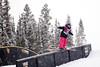 Darian Stevens - USA<br /> 2013 Visa U.S. Freeskiing Grand Prix at Copper Mountain, Colorado.<br /> FIS World Cup<br /> Women's slopestyle freeskiing qualifiers<br /> Photo: Sarah Brunson/U.S. Freeskiing