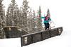 Jeanne Crane Mauzy - USA<br /> 2013 Visa U.S. Freeskiing Grand Prix at Copper Mountain, Colorado.<br /> FIS World Cup<br /> Women's slopestyle freeskiing qualifiers<br /> Photo: Sarah Brunson/U.S. Freeskiing