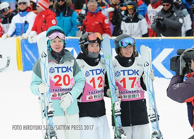 Feb 19, 2017 - Tazawako dual moguls World Cup