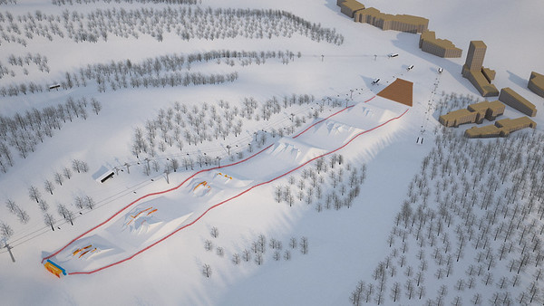 Olympic Slopestyle Course