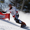 GANGWON,KOREA. JANUARY 20, (France OUT). Marion Kreiner of Austria take 1st Place During<br />  Snowboard FIS World Championship.WomenÕs Parallel Giant Slalom on January 20th, 2009 in Gangwon,Korea. (Photo by Agence Zoom/Getty Images)