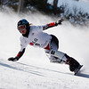 GANGWON,KOREA. JANUARY 20, (France OUT). Doris Guenther of Austria take 2nd Place<br />  During Snowboard FIS World Championship.WomenÕs Parallel Giant Slalom on January 20th, 2009 in Gangwon,Korea. (Photo by Agence Zoom/Getty Images)