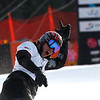 GANGWON,KOREA. JANUARY 20, (France OUT). Jasey Jay Anderson of Canada take 1st Place during<br />  Snowboard FIS World Championship. MenÕs Parallel Giant Slalom on January 20th, 2009 inGangwon,Korea. (Photo by Agence Zoom/Getty Images)