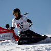 GANGWON,KOREA. JANUARY 20, (France OUT). Nathalie Desmares of France take 8th place<br />  During Snowboard FIS World Championship.WomenÕs Parallel Giant Slalom on January 20th, 2009 in Gangwon,Korea. (Photo by Agence Zoom/Getty Images)