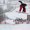 2013 FIS Snowboard World Championships - Halfpipe - Holly Crawford (AUS) © FIS/Oliver Kraus