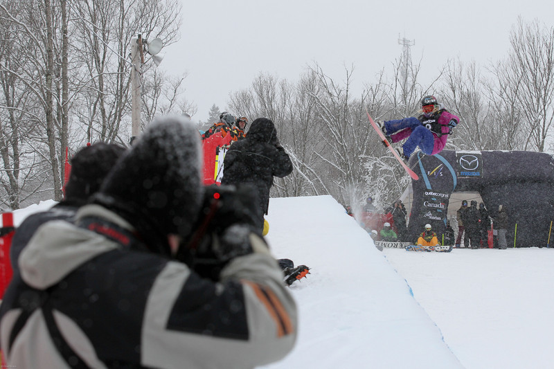 2013 FIS Snowboard World Championships - Halfpipe - Alexandra Fitch (AUS) © FIS/Oliver Kraus
