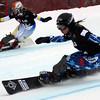 Snowboard WC<br /> Stonehamn PGS<br /> Takeuchi JPN vs Chundak UKR