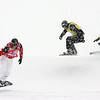 Snowboard WC<br /> Arosa SBX <br /> Seth Wescott USA leading eighth final 5