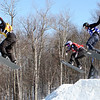 Snowboard WC<br /> Sunday River SBX<br /> Finals Ladies Heat 4<br /> RIcker CAN<br /> Jacobellis USA<br /> Nobs SUI