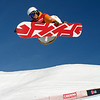 Snowboard WC Cardrona<br /> Halfpipe<br /> Colin Frei Sui