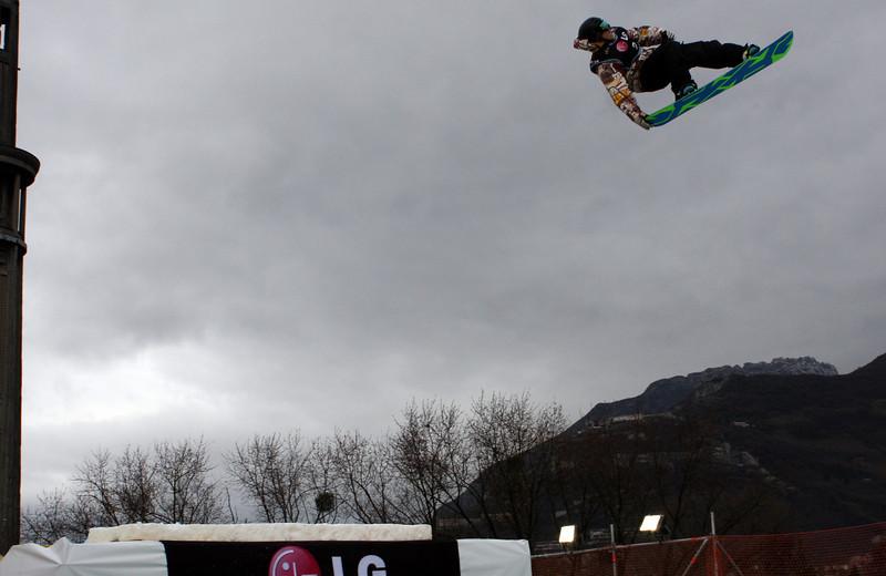 Snowboard WC<br /> Grenoble BA<br /> Niklas Askmyr SWE