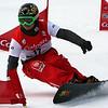 Zan Kosir competes in a qualifier run © FIS/Oliver Kraus