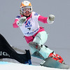 Svetlana Boldykova (RUS) competes in the season's last parallel giant slalom held at the World Cup finals 2011 in Arosa, Switzerland © FIS/Oliver Kraus