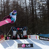 Alexia Le Droumaguet (FRA) competes in a halfpipe World Cup event in Bardonecchia, Italy © FIS/Oliver Kraus